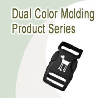 Bags Fittings of Dual Color Molding Product Series