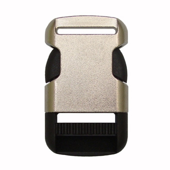 Plating Side Release Buckles F206A - 25mm
