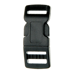 SF208 - 12mm Plastic Contoured Side Release Buckle