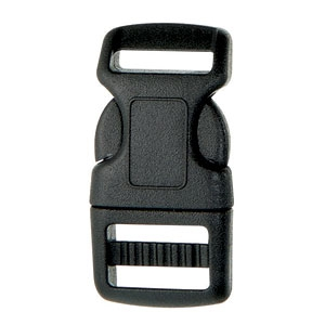 SF208-1-16mm Plastic Heavy Contoured Side Release Buckle