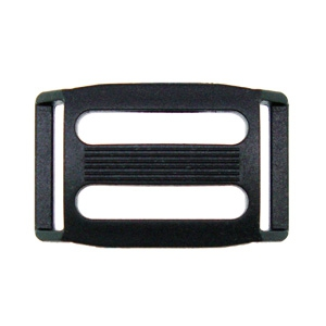 Dual Loop Plastic Slide Buckles: SF513-25_20mm