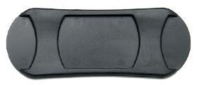SF716 - 45mm Oval Plastic Shoulder Pad