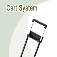 Cart System, Trolley<BR> Pull Out Handle
