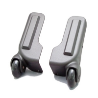 SF169 Luggage Wheels Parts with Protective Rim