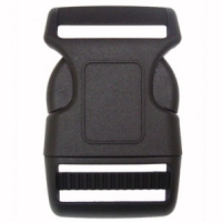 F208-1-38mm Heavy Contoured Quick Release Plastic Buckles