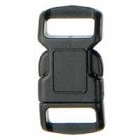 SF208-3 10mm Contoured Quick Release Plastic Buckles
