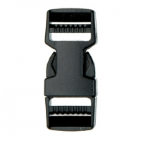 SF210 - 20mm Dual Adjustable Plastic Quick Release Buckles