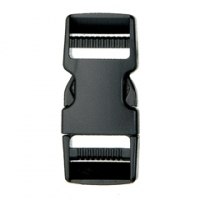 SF210-25mm Dual Adjustable Plastic Quick Release Buckles