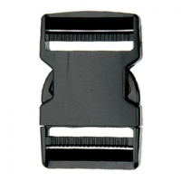SF210-51mm Dual Adjustable Plastic Quick Release Buckles