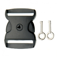 SF224-51mm Side Release Buckle/Key