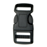 SF208-1-25mm Heavy Contoured Quick Release Plastic Buckles