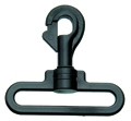 SF313-51mm Spring Plastic Swivel Hooks