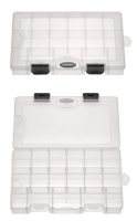 SF360-17 PP Transparent Utility Tackle Box