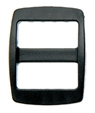 SF508-16mm Plastic Double Slide Buckles